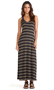 RVCA Artemisia Maxi Dress in Olive