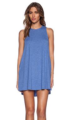 RVCA Sucker Punch Dress in Azul Blue
