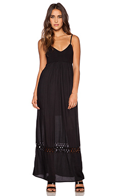 RVCA Clever Girl Maxi Dress in Black