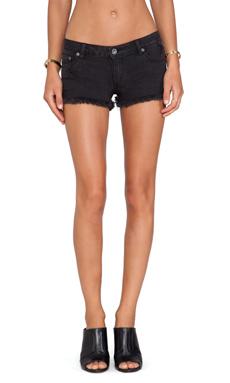 RVCA Caraway Denim Shorts in Black