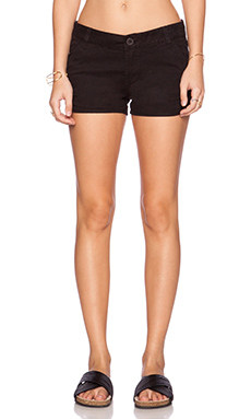 RVCA Downtowner Short in Black