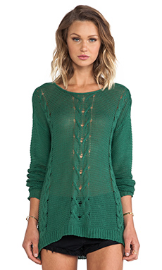 RVCA Soothsayer Pullover Sweater in Foliage