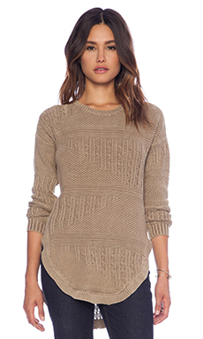 RVCA Florence Sweater in Bronze Amber