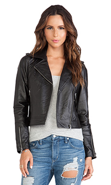 RVCA + Ashley Smith Miyako Jacket in Black