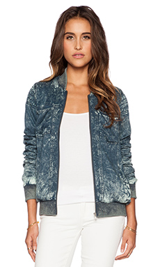 RVCA Never Dull Jacket in Dark Slate