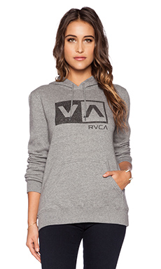 RVCA Coaster Box Hoodie in Athletic