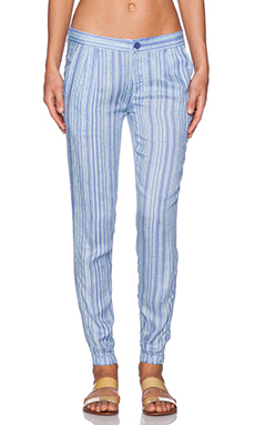 RVCA Transplant Traveler Pants in Blue Crest