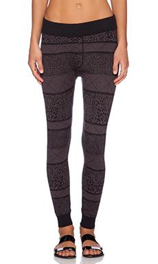 RVCA Venom Sweater Knit Pants in Black