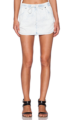 RVCA Bangerang Skirt in Light Blue