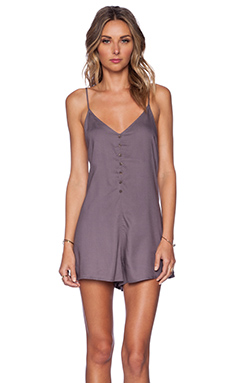 RVCA Escapade Romper in Shark