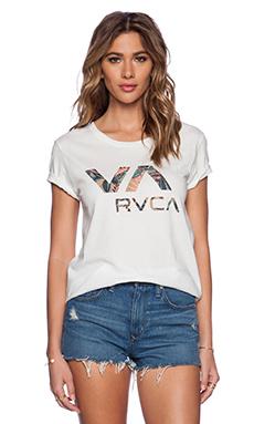 RVCA Island VA Tee in Vintage White