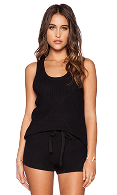 RVCA Kailia Sweater Tank in Black