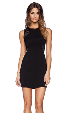 RACHEL ZOE Bizzy Dress in Black