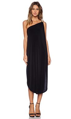 RACHEL ZOE Carina Midi Dress in Black