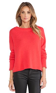 RACHEL ZOE Lera Sweater in Poppy