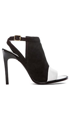RACHEL ZOE Lacey Heel in White/Black