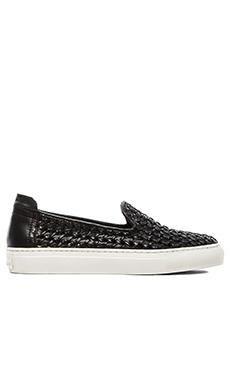 RACHEL ZOE Burke Slip On Sneaker in Black