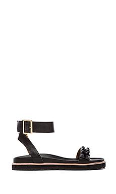 RACHEL ZOE Finley Sandal in Black