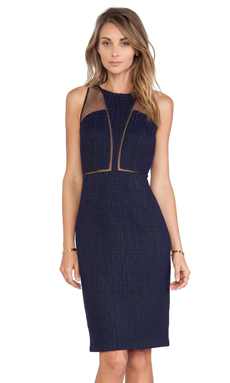 Sachin + Babi Planar Dress in Navy