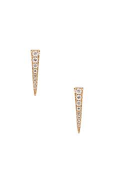 Sachi Dagger Stud Earring in Gold