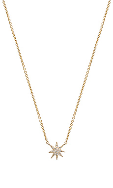 Sachi Star Necklace in Gold