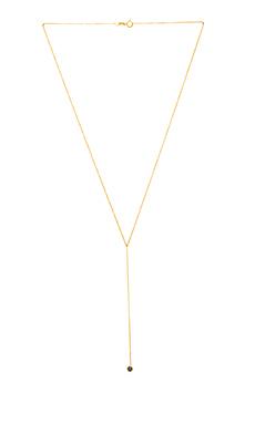 Sachi Sapphire Lariat in Gold