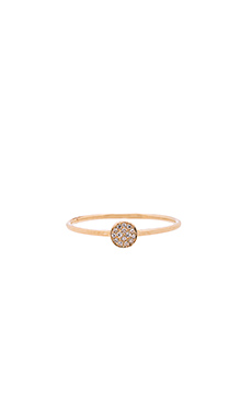 Sachi Disc Stacking Ring in Gold