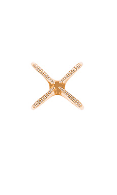 Sachi Diamond Four Claw Ring in Gold