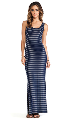 Saint Grace Low Back Maxi in Liberty & White