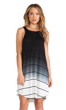 Saint Grace Bandit Tank Dress in Black Ombre