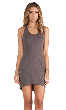 Saint Grace Jo Hi-Low Dress in Seal