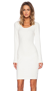 Saint Grace Crosby Pencil Dress in Cream