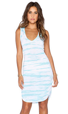Saint Grace Vesper Mini Dress in Scuba Tiger Wash