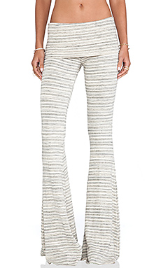Saint Grace Ashby Flare Pants in Cream Stripe