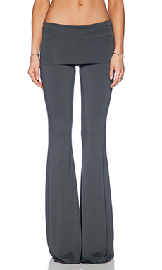 Saint Grace Ashby Flare Pant in Metal
