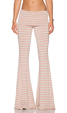 Saint Grace Ashby Pant in Oat & Coral