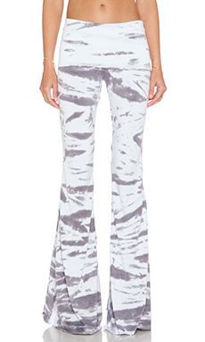 Saint Grace Ashby Flare Pant in Stone Tiger Wash