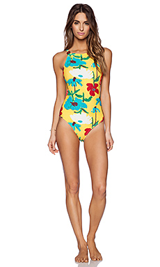 Salinas Fashion Show Gauguin Swimsuit in Floral