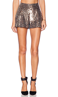 Sam Edelman Sequin Flippy Short in Multi