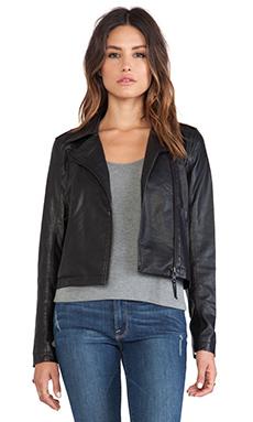 Sam Edelman Vegan Moto Jacket in Black