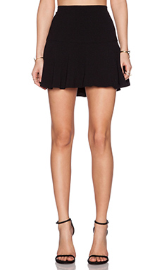 Sam Edelman Crepe Skirt in Black