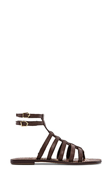 Sam Edelman Gilda Sandal in Brown Leather
