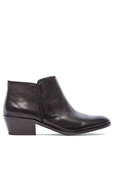Sam Edelman Petty Bootie in Black Vintage Leather