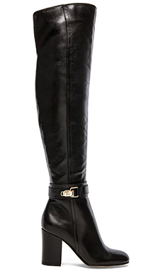 Sam Edelman Fae Boot in Black Leather