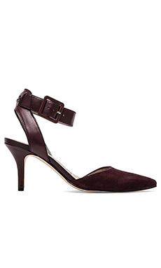 Sam Edelman Oakla Heel in New Burgundy