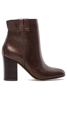 Sam Edelman Fairfield Bootie in Dark Brown