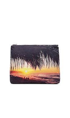 Samudra Surfer Palm Pouch in Multi