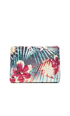 Samudra Hibiscus Pouch in Multi
