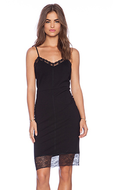Sanctuary Slip Dress in Black