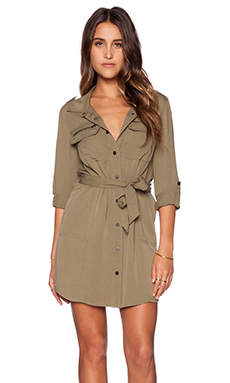Sanctuary Village Shirt Dress in Safari
